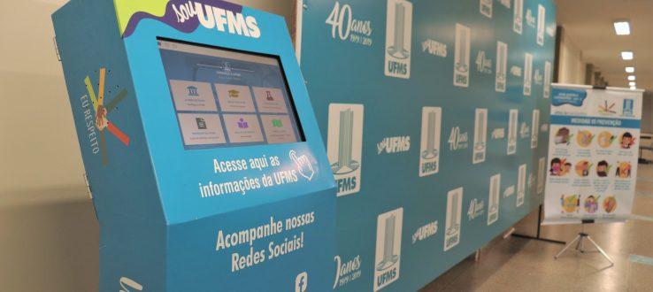 Totens digitais são instalados em diversos pontos da Universidade