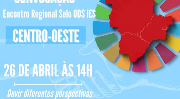 Encontro Regional do Projeto Selo ODS será realizado no dia 26